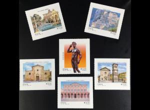 Italien Italy 2016 Michel Nr. 3954-59 Künstlerisches kulturelles Erbe in Italien