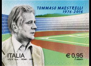 Italien Italy 2016 Michel Nr. 3962 40. Todestag von Tommaso Maestrelli Fußball