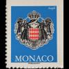 Monako Monaco 2017 Neuheit Freimarken Wappen Ecopli blau Dauerserie