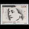 Andorra französisch 2016 Michel Nr. 809 Isabelle Sandy Schriftstellerin Radio