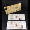Frankreich France 2016 Block 350-51 Schreibfedern Block Souvenir Philatelique