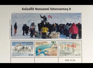 Grönland 2017 Block 79 Sport in Grönland Hundeschlitten Meisterschaft