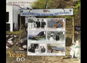 Tristan da Cunha 2017 Block 74 Besuch Prinz Philip The Visit of Prince Philip