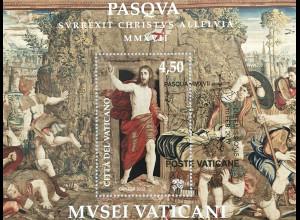 Vatikan Cittá del Vaticano 2017 Block 53 Ostern Auferstehung Pieter van Aelst