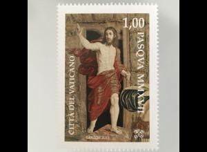 Vatikan Cittá del Vaticano 2017 Michel Nr. 1893 Ostern Auferstehung van Aelst
