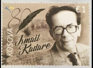 Kosovo 2016 Michel Nr. 366 80. Geburtstag von Ismail Kadare Schriftsteller