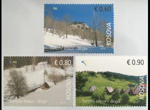 Kosovo 2016 Neuheit Bergtourismus Boga Winter- und Frühlingslandschaft Natur