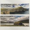 Dänemark Färöer 2017 Michel Nr. 886-87 Seen Landschaftsmotiv Natur Tourismus