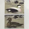 Dänemark Färöer 2017 Michel Nr. 884-85 Eiderente Somateria mollissima Fauna