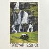 Dänemark Färöer 2017 Michel Nr. 890 Bach Skorá Natur Wasser Landschaftsmotiv