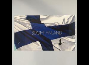 Finnland Finland 2017 Nr. 2483 100 Jahre Unabhängigkeit Nationalflagge blau weiß
