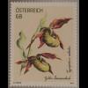 Österreich 2017 Michel Nr. 3328 Gelber Frauenschuh Cypripedium calceolus Flora