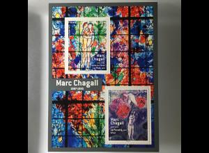 Frankreich France 2017 Block 355 130. Geburtstag von Marc Chagall Glasmalerei