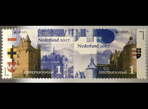Niederlande 2017 Nr. 3562-63 Europa Burgen und Schlösser Schloss Doornenburg