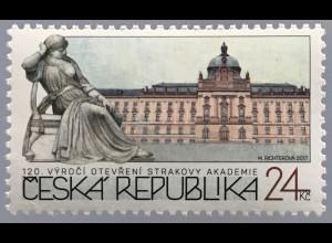 Tschechische Republik 2017 Michel Nr. 916 120 Jahre Straka-Akademie Prag