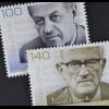 Schweiz 2010 Michel Nr. 2174-75, 100. Geb. von R. Liebermann und H. Sutermeister