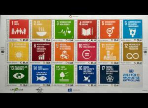 Verei. Nationen UNO Wien 2016 Nr. 938-54 Ziele für nachhaltige Entwicklung