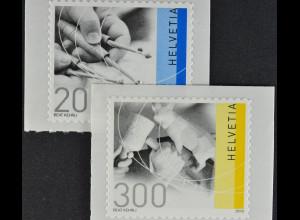 Schweiz 2010 Michel Nr. 2176-77 **, Freimarken: Traditionelles Handwerk