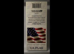 USA Amerika 2017 Folienblatt 213 Freimarken Flagge ATM 18 Werte
