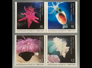Australische Antarktis AAT 2017 Nr. 247-50 Tiefsee Kreatur Meeresfauna Seestern