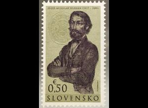 Slowakei Slovakia 2017 Michel Nr. 811 Jozef Miloslav Hurban berühmte Person