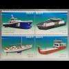 Estland EESTI 2017 Michel Nr. 884-87 Schiffsbau Schiffsverkehr Transport Verkehr