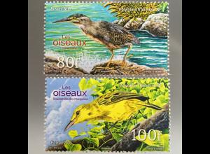 Polynesien französisch Polynesie Francaise 2016 Nr 1331-32 Vögel Fauna Vogelwelt