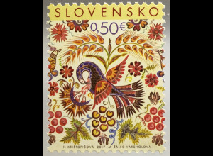 Slowakei Slovakia 2017 Michel Nr. 812 Ostern Kirchenfest Auferstehung Religion