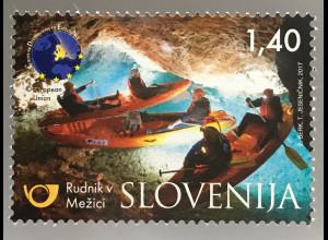 Slowenien Slovenia 2017 Nr. 1245 Europäische Reiseziele EDEN Bergmassiv Petzen