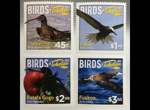 Tokelau Inseln 2017 Nr. 503-06 Fauna Vogelwelt Seabirds Seevögel Ornithologie