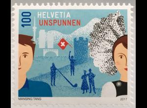 Schweiz 2017 Michel Nr. 2499 Brauchtum Schweizer Trachten- und Alpenhirtenfest