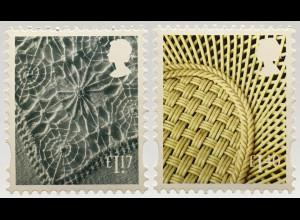 Großbritannien 2017 Regionalmarke Nordirland Michel Nr. 124-25 Landeswahrzeichen