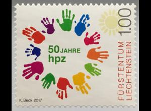 Liechtenstein 2017 Nr. 1854 50 Jahre HPZ Schaan Bunte Vielfalt Heilpädagogik