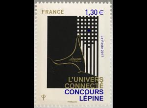 Frankreich France 2017 Neuheit L`UNIVERS CONNECTE CONCOURS LÈPINE