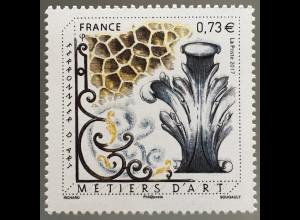 Frankreich France 2017 Michel Nr. 6717 Handwerk Schmiedekunst Metiers D´art