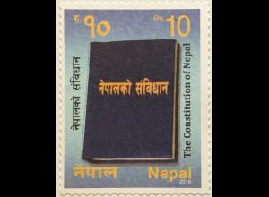 Nepal 2016 Neuheit Verfassung von Nepal Politik Gesetzestexte Gesetzbuch