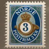 Norwegen 2017 Michel Nr. 1933 Freimarkenserie Posthorn Neudruck