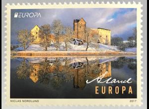 Aland 2017 Michel Nr. 438 Europa Burgen und Schlösser Schloss Kastelholm