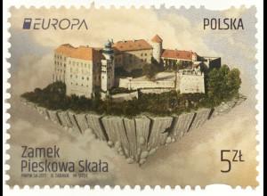 Polen Polska 2017 Nr. 4906 Europa Burgen und Schlösser Schloß Pieskowa Skaa