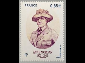 Frankreich France 2017 Nr. 6693 65. Todestag von Anne Morgan Philanthropin