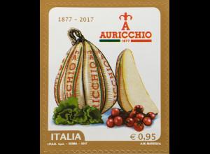 Italien Italy 2017 Michel Nr. 3972 140 Jahre Käserei Gennaro Auricchio Provolone