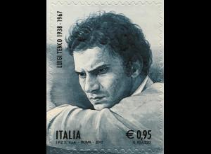 Italien Italy 2017 Michel Nr. 3967 50. Todestag Luigi Tenco Musik Lyrik Kunst