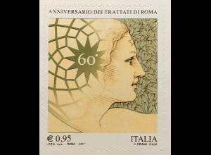Italien Italy 2017 Michel Nr. 3973 60 Jahre römische Verträge Europäische Idee