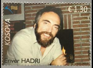 Kosovo 2017 Michel Nr. 382 Enver Hadri 1941-1990 Menschenrechtsaktivist Politik