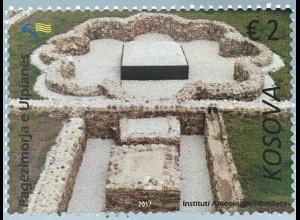 Kosovo 2017 Michel Nr. 383 Ausgrabungsstätte Ulpiana Geschichte Archäologie