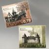 Lettland Latvia 2017 Michel Nr. 1011-12 Europaausgabe Burgen und Schlösser
