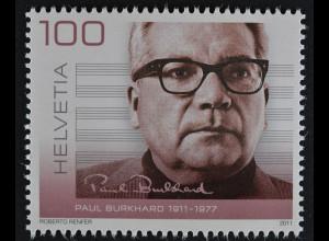 Schweiz 2011 Michel Nr. 2214 ** postfrisch, 100. Geburtstag von Paul Burkhard