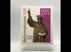 Estland EESTI 2017 Michel Nr. 893 500. Jahrestag der Reformation