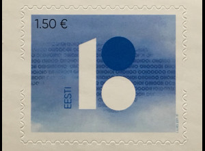 Estland EESTI 2017 Michel Nr. 894 100 Jahre Republik Estland 2018