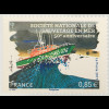 Frankreich France 2017 Neuheit 50 Jahre Seenotrettung Schiffe Rettungsschiff